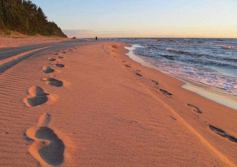 Пляж в коккорево фото